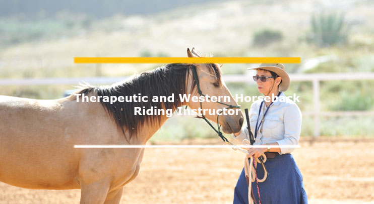 Therapeutic and Western horseback riding course