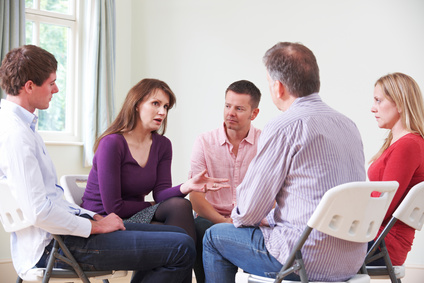 Alcohol addiction support group